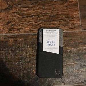 iPhone 7 phone case with card holders.